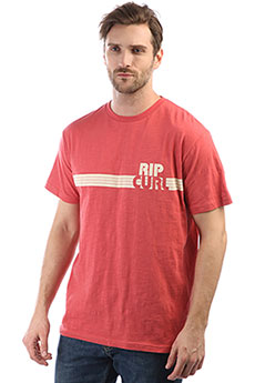 Футболка Rip Curl Macao Tee Mineral Red