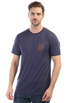 Футболка Rip Curl Funicon Chest Tee Blue Indigo