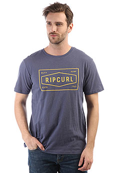 Футболка Rip Curl Section Tee Blue Indigo