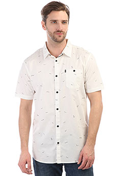 Рубашка Rip Curl Busy Surf Day Shirt Optical White