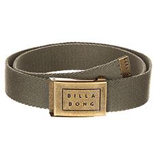 Ремень Billabong Sergeant Belt Dark Olive