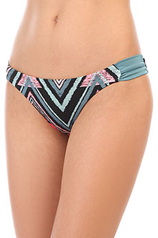 Трусы женские Billabong Sol Searcher Tanga Ethno Blue Wave