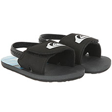 Сандалии детские Quiksilver Molokai Layb-in Black/Grey/Blue