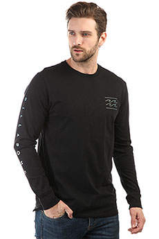 Лонгслив Billabong Pipe Poster Tee Ls Black