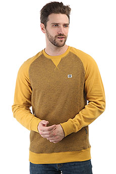 Толстовка свитшот Billabong Balance Crew Mustard Heather