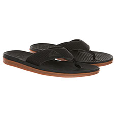 Вьетнамки Quiksilver Haleiwa Plus Black/Black/Brown