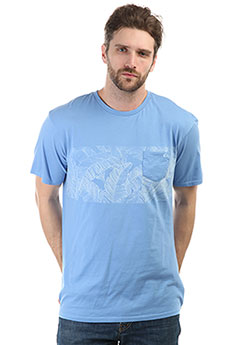 Футболка Quiksilver Mantraright Silver Lake Blue