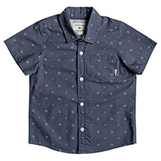 Рубашка детская Quiksilver Kamanoa Ss Boy Vintage Indigo Kaman