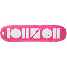 Дека для скейтборда Юнион Geometric Pink/White 31.75 x 8.125 (20.6 см)