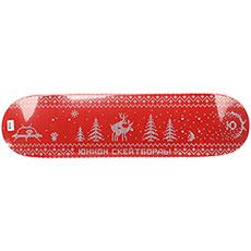 Дека для скейтборда Юнион Sweater Red 32.2 x 8.375 (21.3 см)
