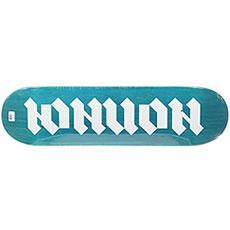 Дека для скейтборда Юнион Gothic Blue/White 32.2 x 8.5 (21.6 см)