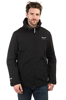 Ветровка TrueSpin Rain Jacket Deep Black