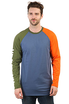 Лонгслив Anteater Longsleeve Logo Orange/Blue/Green