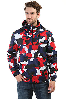 Анорак Anteater Stripe Camo Red