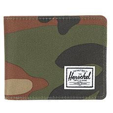 Кошелек Herschel Roy + Coin Rfid Woodland Camo