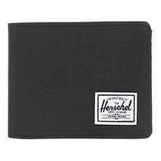Кошелек Herschel Roy + Coin Rfid Black