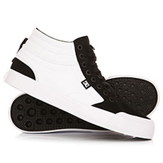 Кеды высокие DC Evan Smith Hi White/Black