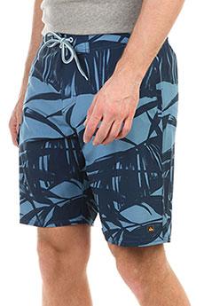 Шорты пляжные Quiksilver Wakepalmbs Blue Shadow