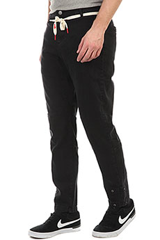Штаны прямые Skills C&j Pants Black
