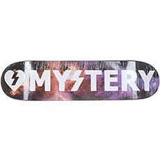Дека для скейтборда Mystery Cosmic Galaxy/White
