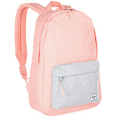 Рюкзак городской Herschel Classic Mid-volume Peach/Light Grey Crosshatch
