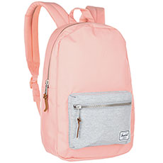 Рюкзак городской Herschel Settlement Mid-volume Peach/Light Grey Crosshatch