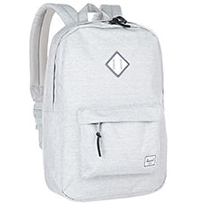 Рюкзак городской Herschel Heritage Light Grey Crosshatch/White Rubber/Blueprint Strip