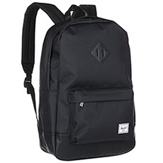 Рюкзак городской Herschel Heritage Black/Black Synthetic Leather