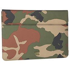 Чехол для ноутбука Herschel Spokane Sleeve For Macbook Woodland Camo