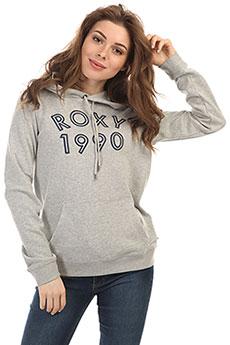 Толстовка классическая женская Roxy Fullofhooda Heritage Heather