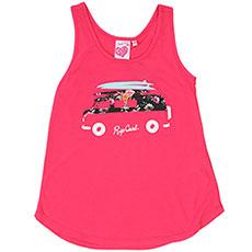 Майка детская Rip Curl Floral Van Tank Blogger Pink