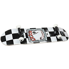 Скейтборд в сборе Quiksilver Zebra School White 32 x 8 (20.3 см)