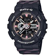 Кварцевые часы женские Casio G-Shock Baby-g Baby-g ba-110ch-1a Black