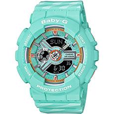 Кварцевые часы женские Casio G-Shock Baby-g ba-110ch-3a Blue