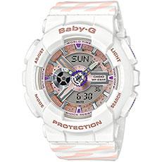 Кварцевые часы женские Casio G-Shock Baby-g ba-110ch-7a White