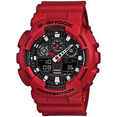 Кварцевые часы женские Casio G-Shock Baby-g ba-110cr-4a Red