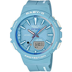 Кварцевые часы женские Casio G-Shock Baby-g bgs-100rt-2a Blue