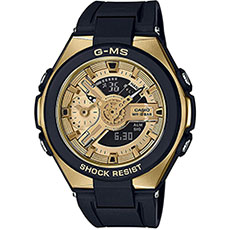 Кварцевые часы женские Casio G-Shock Baby-g msg-400g-1a2 Black