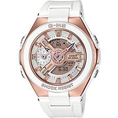Кварцевые часы женские Casio G-Shock Baby-g msg-400g-7a White