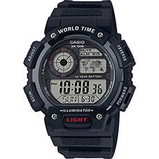 Электронные часы Casio ae-1400wh-1a Black