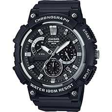 Кварцевые часы Casio Collection mcw-200h-1a Black