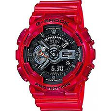 Кварцевые часы Casio G-Shock ga-110cr-4a Red