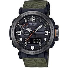 Кварцевые часы Casio Sport prw-6600yb-3e Green