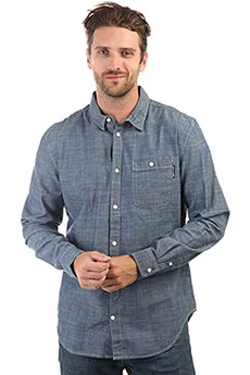 Рубашка DC Henlow Indigo Chambray