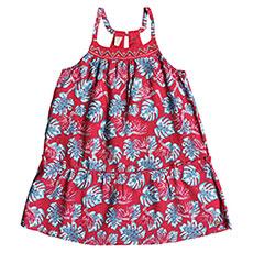Платье детское Roxy Boomeranglove Rouge Red Abyssal