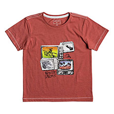 Футболка детская Quiksilver Super Tv Boy Baked Apple Heather