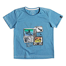Футболка детская Quiksilver Super Tv Boy Malibu Heather