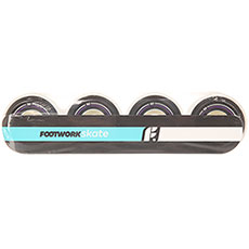 Колеса для скейтборда Footwork Basic Black/White 100A 52 mm