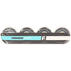 Колеса для скейтборда Footwork Basic White/Black 100A 51 mm