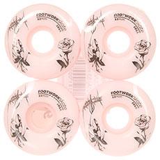 Колеса для скейтборда Footwork Rose Pink 101A 53 mm